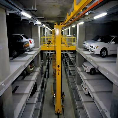 The stacking parking system is Automated smart parking system.