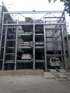 Multilayer Circulation Parking System project in Philippines