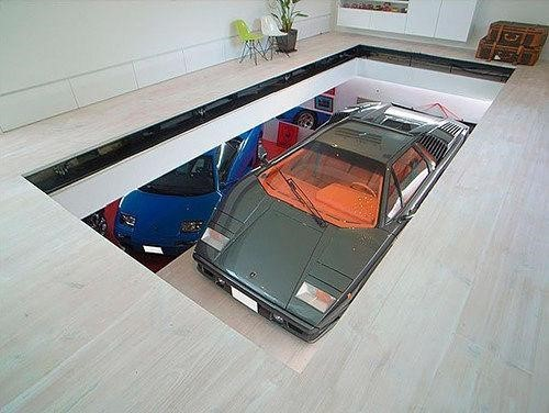 The most creative parking system in the world —Tokyo, Japan