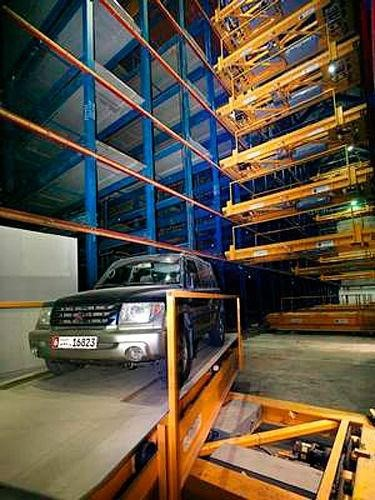 The most creative parking system in the world —dubai