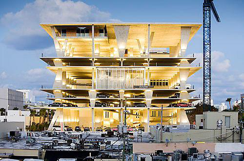 The most creative parking system in the world —Miami, USA